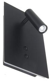 Gaismeklis Verners Wale 2 Wall Lamp 14W LED Black