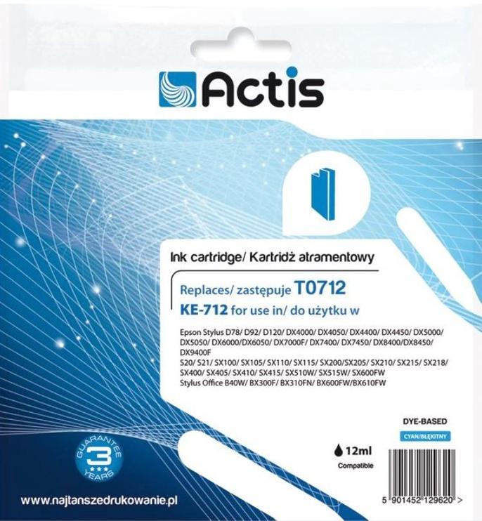 Actis Cartridge For Epson KE-712 Cyan