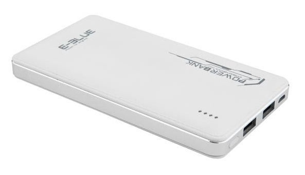 E-Blue Power Bank 10000mAh White