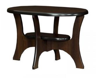 Kafijas galdiņš Bodzio S11 Walnut, 900x600x590 mm
