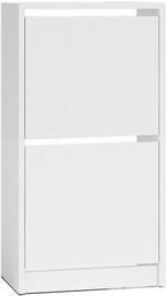 Шкаф для обуви Top E Shop Betsi 2x, белый, 490x280x940 мм