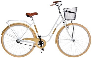 Velosipēds Grunberg Holland Single Speed 28 White/Beige 16