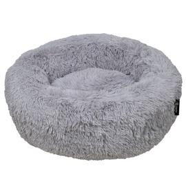 Кровать для животных VLX District70 Fuzz M, серый, 600 мм x 600 мм