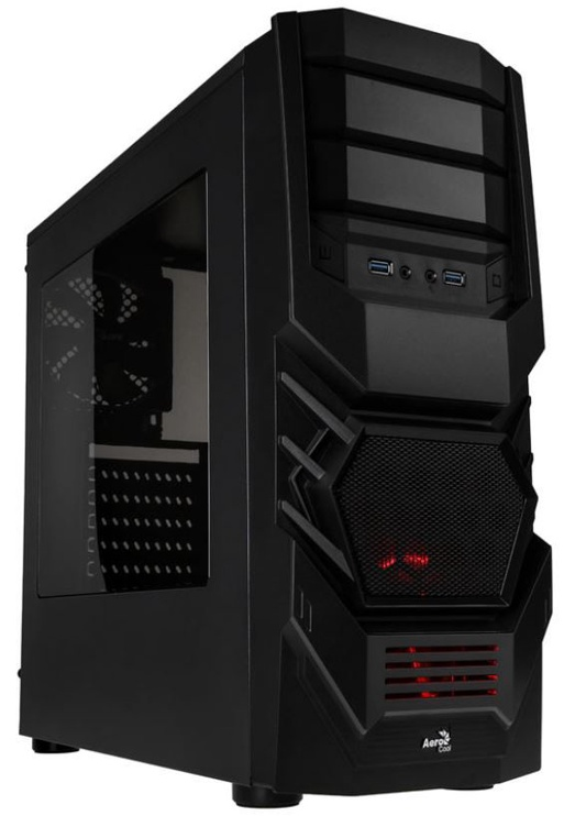 Aerocool Cyclops Advance V2 Midi Tower Black
