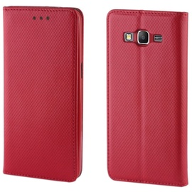 TakeMe Smart Magnetic Fix Book Case For Samsung Galaxy A8 Plus A730F Red