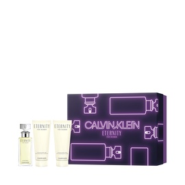 Komplekts sievietēm Calvin Klein Eternity 50 ml EDP + 100 ml Body Lotion + 100 ml Shower Gel