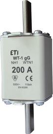 Kūstošs drošinātājs ETI WT-1(C)/GG, 500 V