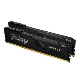 Оперативная память (RAM) Kingston Fury Beast, DDR4, 16 GB, 3200 MHz