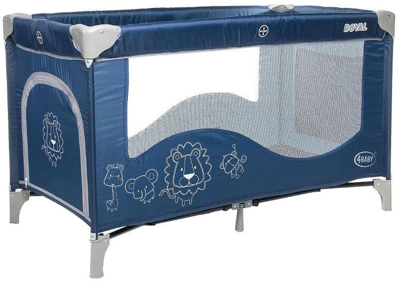 4Baby Playyard Royal Blue