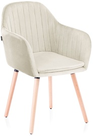 Homede Lacelle Chairs 2pcs Cream