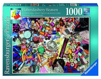 Ravensburger Haberdashery Heaven Puzzle 1000pcs 19396
