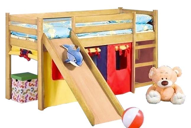 Divstāvīga gulta Halmar Neo Plus Pine, 197x89 cm