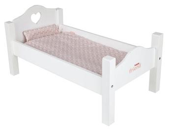 Happy Friend Doll Single Bed White