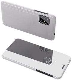 Hurtel Clear View Case For Samsung Galaxy S20 Silver