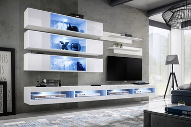 ASM Fly U3 Living Room Wall Unit Set White