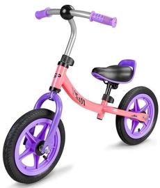 Балансирующий велосипед Spokey Ono 18974, розовый/фиолетовый, 11.6″