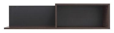 Black Red White Alhambra Shelf 102.5x25.5x22cm Right
