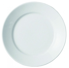 Porland Bella Bread Plate D15cm White