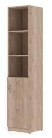 Plaukts Skyland Simple, ozola, 38.6x37.5x181 cm