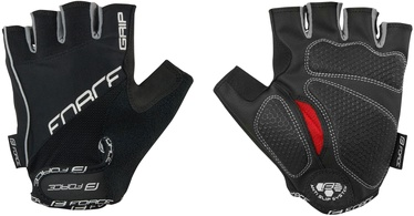 Force Grip Gel Short Gloves Black L