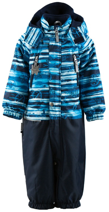 Lenne Boys Overall Wave 18205 2290 Blue Stripes 80