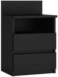 Naktsgaldiņš Top E Shop M1 Malwa, melna, 40x32x59 cm