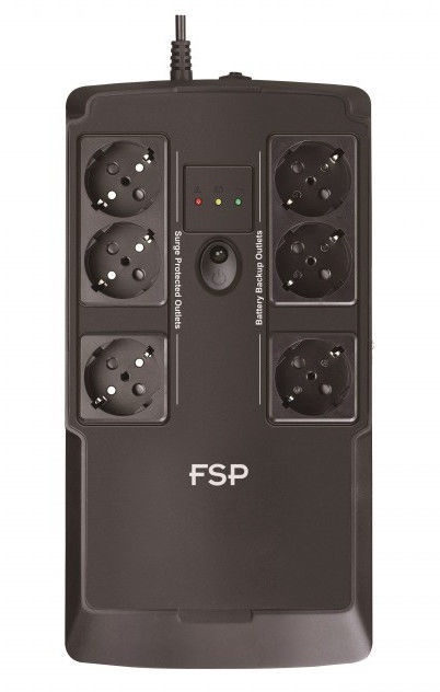 UPS sprieguma stabilizators FSP Nano FIT 600 600VA/360W
