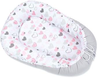 Mūrītis MamoTato Baby Nest Cocoon Hearts, 92 cm