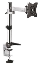 "Maclean Single Mount For TV 13 - 27"" Black"