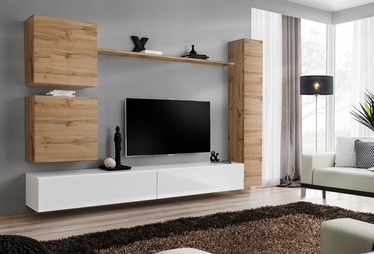 ASM Switch VIII Wall Unit Wotan Oak/White