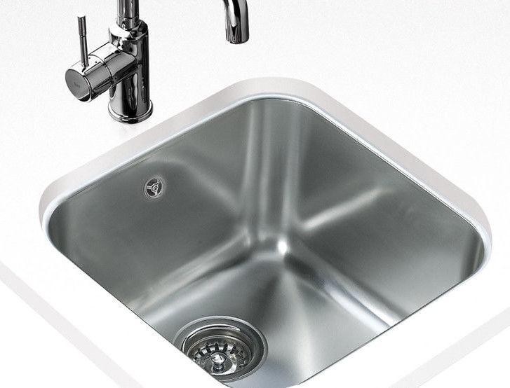 Teka Kitchen Sink BE 40x40 Plus Stainless steel