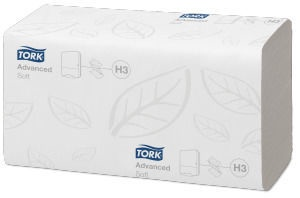 Tork Advanced ZZ Fold Hand Towel 200 Sheets H3 White