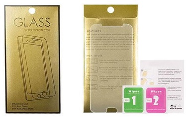 Gold Tempered Glass Screen Protector For Apple iPhone XR