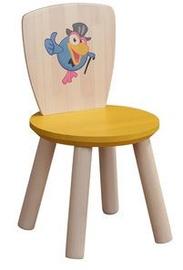 MN Children Chair Crow Wood/Yellow