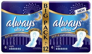 Always Ultra Duo Extra Night Pads 12pcs