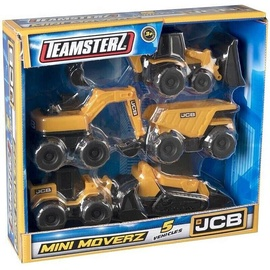 HTI Teamsterz JCB Mini Moverz 5pcs