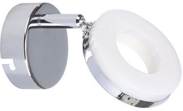 Gaismeklis Candellux Thema 5W LED Wall Lamp Chrome