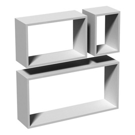 Velano FRS Floating Shelves Set 3 pcs White