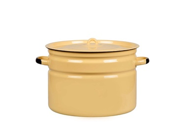 SN Enamelled Metal Pot D33cm 18l