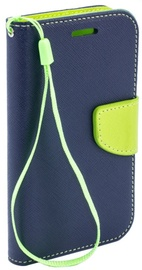 TakeMe Fancy Diary Bookstand Case For LG K8 2018 Blue/Light Green