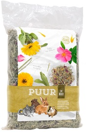 Barība grauzējiem Witte Molen Puur Meadow Hay Flowers 500g