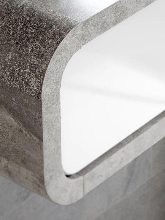 ASM Wally II Hallway Wall Unit Set Gray/Glossy White