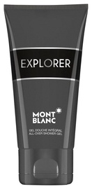 Mont Blanc Explorer All Over Shower Gel 150ml