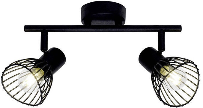 Brilliant Spotlight Elhi Lamp 2x40W E14 Black