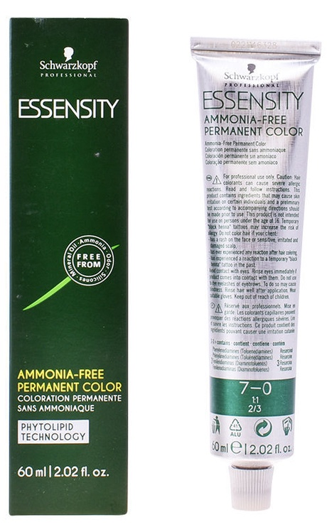 Schwarzkopf Essensity Ammonia Free Permanent Color 60ml 7-0