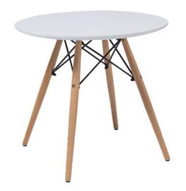 Kafijas galdiņš Signal Meble Soho White, 600x600x550 mm