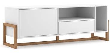 ТВ стол Vivaldi Meble, коричневый, 1390x370x489 мм