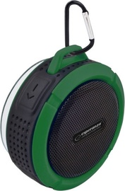 Bezvadu skaļrunis Esperanza EP125 Country Black/Green, 3 W