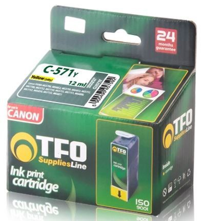 TFO Ink Cartridge 12ml for Canon Pixma Yellow