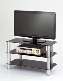 ТВ стол Halmar RTV-21 Glass/Black, 800x400x500 мм